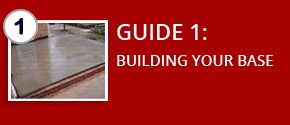 Guide 1: BUILDING YOUR BASE FOR DIY CONSERVATORY